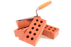 Brick & Trowel Stock Photos