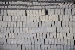 A brick are two basic categories of bricks are fired and non-fired bricks. Fired bricks are one of the longest-lasting and strongest building materials Stock Photos
