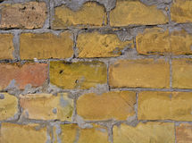 Brick Up. A piece of an old brick wall Royalty Free Stock Photo