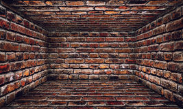 Brick Urban Interior Stage Royalty Free Stock Photography