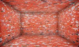 Brick Urban Interior Stage Stock Photo