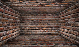 Brick Urban Interior Stage Royalty Free Stock Images