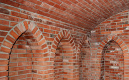 Brick vault Stock Photo