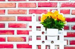 Brick vintage background.select focus Royalty Free Stock Image