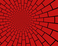 Brick Vortex Royalty Free Stock Images