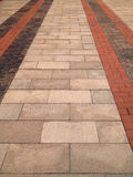 Brick Walk Way background Royalty Free Stock Images