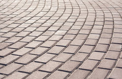 Brick Walk Way Stock Image