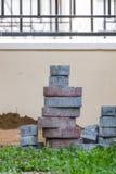 Brick walk way Royalty Free Stock Photography