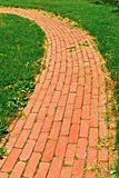 Brick Walkway Stock Photos
