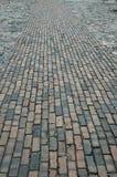 Brick walkway. River Street, Savannah, Georgia stock photos