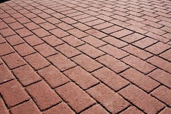 Brick Walkway Stock Images