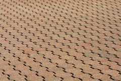 Brick Walkway Stock Photography