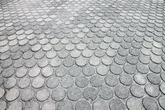 Brick walkway. Royalty Free Stock Images