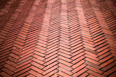 Brick Walkway Royalty Free Stock Photo