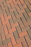 Brick Walkway Pattern Stock Photo