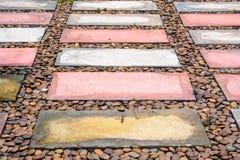 Brick walkway Stock Photo