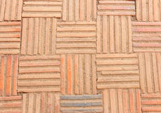 A brick walkway Royalty Free Stock Photo