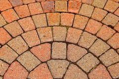 Brick Walkway Royalty Free Stock Image