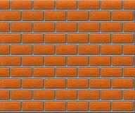 Brick-wall-01. The image simulating a brick wall stock illustration