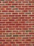 Brick Wall 1. Close up of red brick wall with mortar Royalty Free Stock Photography