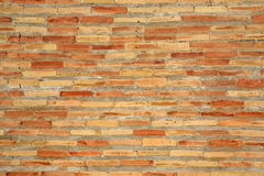 Brick wall. Close-up of an old brick wall. This wall is actually one of the walls of Hasti-Imam mosque located in Uzbekistan Royalty Free Stock Image
