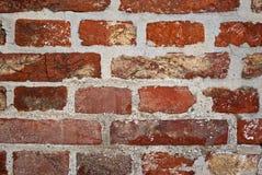 Brick wall. Red brick wall as background Royalty Free Stock Photo