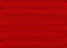 Brick wall. Wall from a red brick.Abstract background, befits for inscriptions.Raster illustration Royalty Free Stock Images