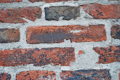 Brick wall. Close up picture of old brick wall royalty free stock image