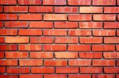 Brick wall. Red brick wall Stock Photography