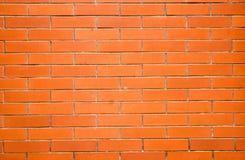 Brick wall. Red yellow brick wall,the bricks  arrange tidily.Taken in Wu Han city of China Stock Photo