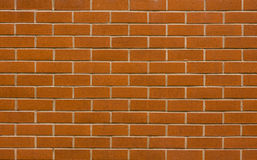 Brick wall. A nice brick wall which might be used as background, wallpaper etc Stock Photos