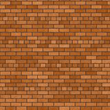 Brick wall. Color background texture stock illustration
