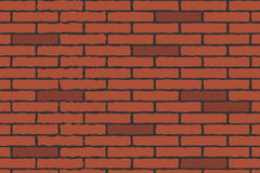Brick wall. Illustration of a brick wall for your designs.EPS file available Royalty Free Stock Photos