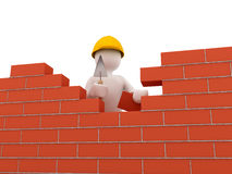 Brick wall. 3d rendered image Stock Photo