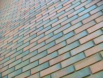 Brick wall. High colored brick wall Royalty Free Stock Photo