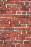 Brick Wall. A red brick wall, suitable for background Royalty Free Stock Photos