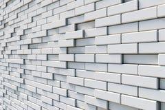 Brick wall. Texture of white brick wall Stock Image