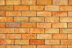 Brick wall. The texture of brick wall for background and designs Royalty Free Stock Image