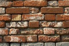 Brick wall. Old brick wall close up shot stock images