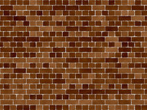 Brick Wall. Perfect for background or textures royalty free illustration