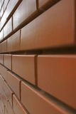 Brick wall. A tiled pattern of bricks. Urban city style stock images