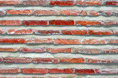 Brick wall. As background in Georgia Royalty Free Stock Photo