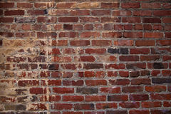 Brick wall. Abstract background with old brick wall stock photo