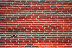 Brick wall. With some prohibitions Royalty Free Stock Photo