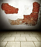 Brick wall. Old brick wall backgrounds texture grunge in old city Thailand royalty free stock photography