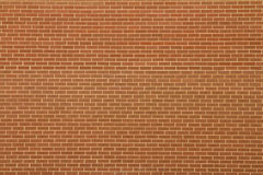 Brick wall. Brown brick wall pattern background Stock Images