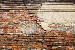 Brick wall. Grunge stile of brick wall royalty free stock image