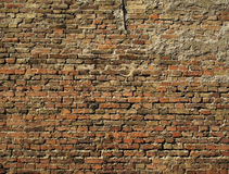Brick wall 2. Old brick wall Stock Photography