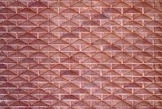 Brick wall. Odd brick wall diagonal pattern Royalty Free Stock Photography