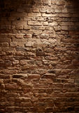 Brick Wall. Abstract background with old brick wall. full frame Stock Photography